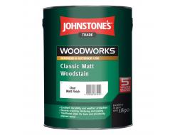 Антисептик для дерева Johnstones Classic Matt Woodstain матовый прозрачный