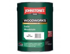 Антисептик для дерева Johnstones Satin Woodstain полуматовый прозрачный