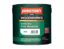 Антисептик лессирующий Johnstones Quick Dry Satin Woodstain для дерева полуматовый