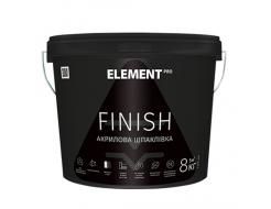 Шпаклевка финишная акриловая Element Pro Finish белая