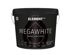 Краска интерьерная Element Pro Megawhite латексная матовая ультра белая