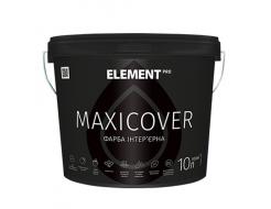 Краска интерьерная Element Pro Maxicover высокопокрывная матовая белая