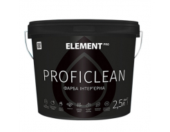 Краска интерьерная Element Pro Proficlean База А латексная шелковисто-матовая белая