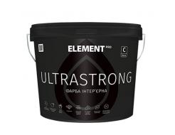 Краска интерьерная Element Pro Ultrastrong База А латексная шелковисто-матовая белая