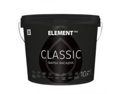 Краска фасадная Element Pro Classic акриловая матовая белая