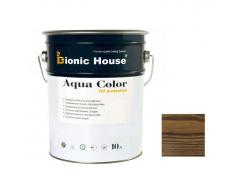 Акриловая лазурь Aqua color – UV protect Bionic House Trox 38 Коричневая - интернет-магазин tricolor.com.ua