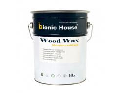 Акриловая эмульсия с воском Wood Wax Bionic House RAL 9005 Черная - изображение 2 - интернет-магазин tricolor.com.ua