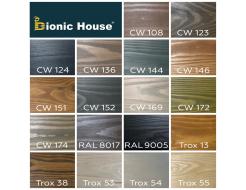 Краска-воск для дерева Wood Wax Pro Bionic House алкидно-акриловая CW 152 Серая - изображение 3 - интернет-магазин tricolor.com.ua