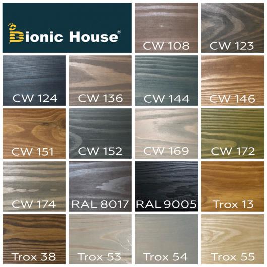 Акриловая эмульсия с воском Wood Wax Bionic House CW 144 Сине-зеленая - изображение 4 - интернет-магазин tricolor.com.ua