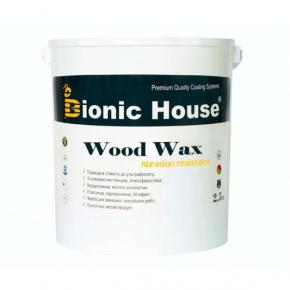 Акриловая эмульсия с воском Wood Wax Bionic House CW 144 Сине-зеленая