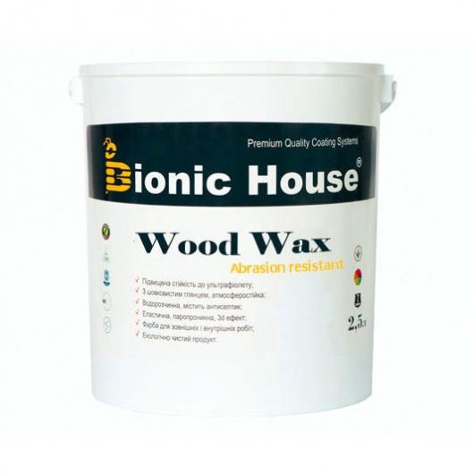 Акриловая эмульсия с воском Wood Wax Bionic House CW 144 Сине-зеленая - интернет-магазин tricolor.com.ua