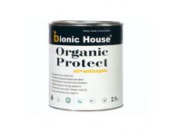 Масло-антисептик для дерева Bionic House Organic Protect Oil Патина - интернет-магазин tricolor.com.ua