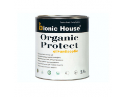 Масло-антисептик для дерева Bionic House Organic Protect Oil Грей - интернет-магазин tricolor.com.ua