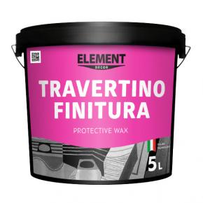 Воск декоративный защитный Element Decor Travertino Finitura с эффектом натурального камня