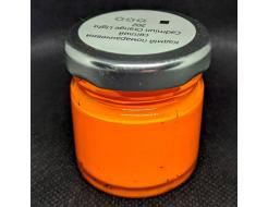 Краска масляная художественная Happy Paint Кобальт оранжевая светлая 202 - изображение 2 - интернет-магазин tricolor.com.ua