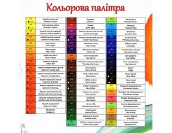 Краска масляная художественная Happy Paint Кобальт оранжевая светлая 202 - изображение 3 - интернет-магазин tricolor.com.ua