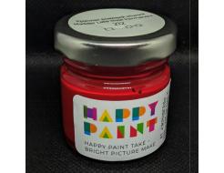Краска масляная художественная Happy Paint Краплак розовая прочная 212 - интернет-магазин tricolor.com.ua