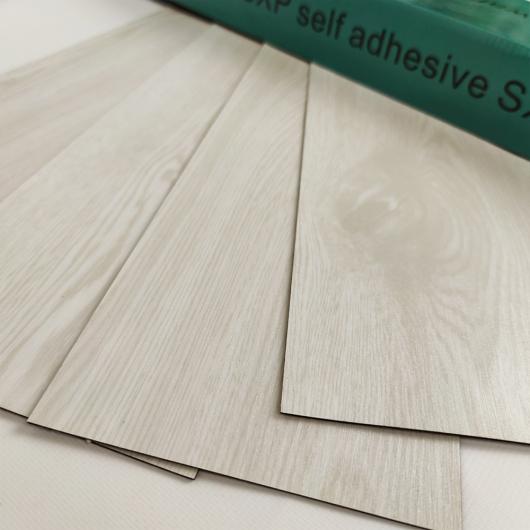 Самоклеящийся гибкий ламинат молочное дерево СВП-009 - изображение 2 - интернет-магазин tricolor.com.ua