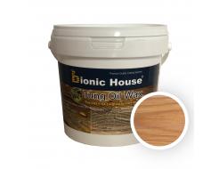 Масло тунговое с карнаубским воском Hard Tung oil Bionic House Клен
