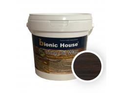 Масло тунговое с карнаубским воском Hard Tung oil Bionic House Палисандр