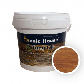 Масло тунговое Tung oil Bionic House Ирис - интернет-магазин tricolor.com.ua