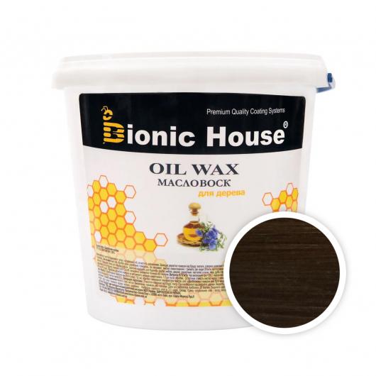 Масло-воск для дерева с пчелиным воском Bionic House в цвете Гебан - интернет-магазин tricolor.com.ua