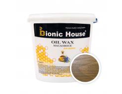 Масло-воск для дерева с пчелиным воском Bionic House в цвете Светлый дуб