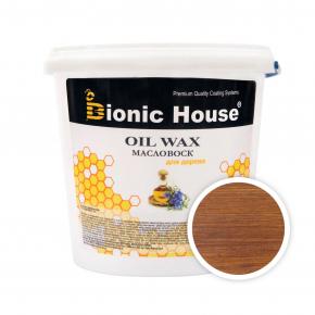 Масло-воск для дерева с пчелиным воском Bionic House в цвете Ирис
