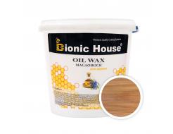 Масло-воск для дерева с пчелиным воском Bionic House в цвете Клен