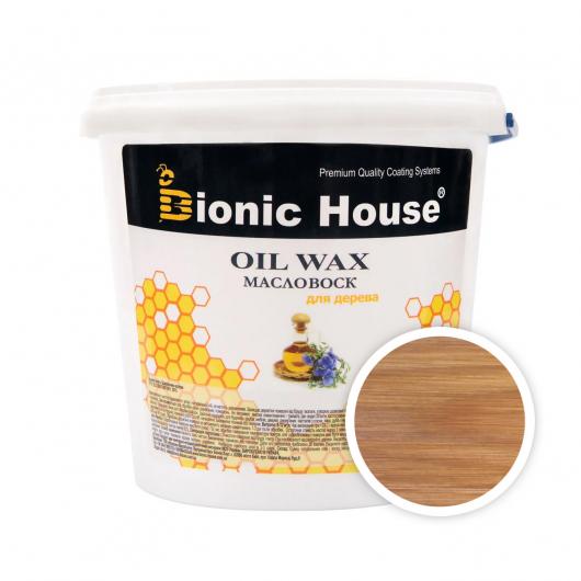 Масло-воск для дерева с пчелиным воском Bionic House в цвете Клен - интернет-магазин tricolor.com.ua