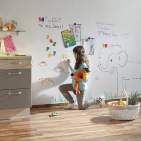 Краска интерьерная маркерная LaboFarb Creative Wall белая 2К - изображение 2 - интернет-магазин tricolor.com.ua