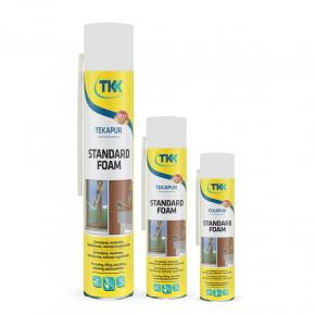 Пена монтажная ручная TKK Tekapur Standart 250 мл - изображение 2 - интернет-магазин tricolor.com.ua