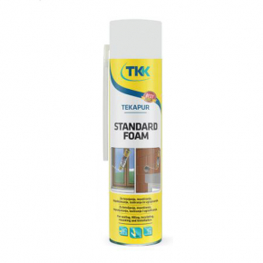 Пена монтажная ручная TKK Tekapur Standart 250 мл - интернет-магазин tricolor.com.ua