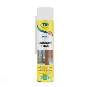 Пена монтажная ручная TKK Tekapur Standart 500 мл - интернет-магазин tricolor.com.ua