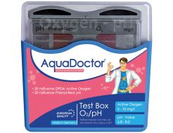 Тестер AquaDoctor Box таблеточный pH и O2 (20 тестов)
