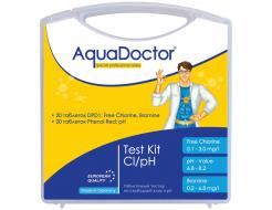 Тестер AquaDoctor Kit таблеточный pH и Cl (20 тестов)