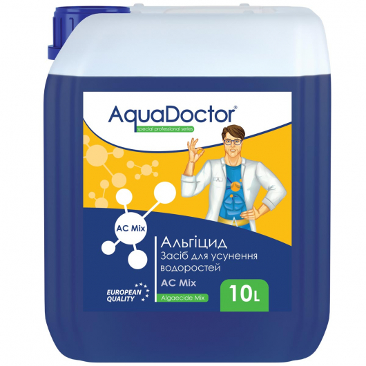 Альгицид AquaDoctor AC Mix - изображение 3 - интернет-магазин tricolor.com.ua