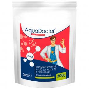 Дезинфектант на основе хлора быстрого действия AquaDoctor C-60T - интернет-магазин tricolor.com.ua