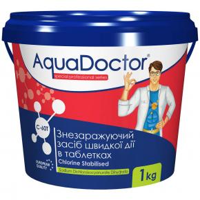 Дезинфектант на основе хлора быстрого действия AquaDoctor C-60T - изображение 2 - интернет-магазин tricolor.com.ua