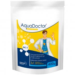 Дезинфектант 3 в 1 на основе хлора AquaDoctor MC-T (200 г/таб) - интернет-магазин tricolor.com.ua