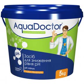Средство для снижения уровня pH AquaDoctor pH Minus - изображение 2 - интернет-магазин tricolor.com.ua
