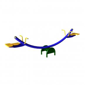 Качели-балансир Kidigo Коромысло 2,2x1,6x0,7 м - интернет-магазин tricolor.com.ua