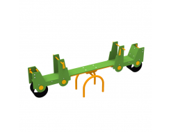 Качели-балансир Kidigo Cars 2,4х0,4х0,95 м - интернет-магазин tricolor.com.ua