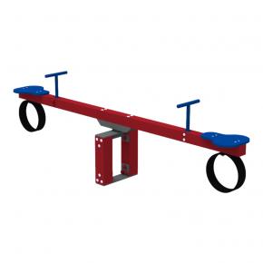 Качели-балансир Kidigo Wood Go 2,52х0,4х0,74 м - изображение 3 - интернет-магазин tricolor.com.ua