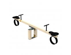 Качели-балансир Kidigo Wood Go 2,52х0,4х0,74 м - изображение 5 - интернет-магазин tricolor.com.ua