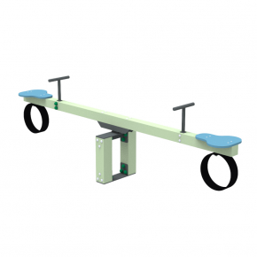 Качели-балансир Kidigo Wood Go 2,52х0,4х0,74 м - интернет-магазин tricolor.com.ua