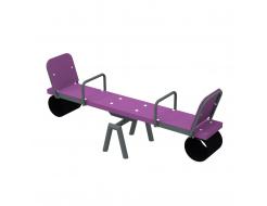 Качели-балансир Kidigo Classic Short 1,54х0,4х0,62 м - изображение 4 - интернет-магазин tricolor.com.ua