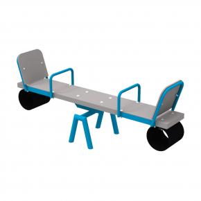 Качели-балансир Kidigo Classic Short 1,54х0,4х0,62 м - интернет-магазин tricolor.com.ua