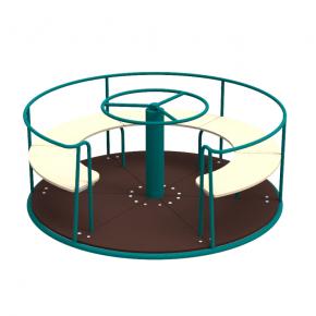 Карусель Kidigo Circle 1,6х1,6х0,75 м - изображение 3 - интернет-магазин tricolor.com.ua