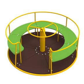Карусель Kidigo Circle 1,6х1,6х0,75 м - изображение 2 - интернет-магазин tricolor.com.ua